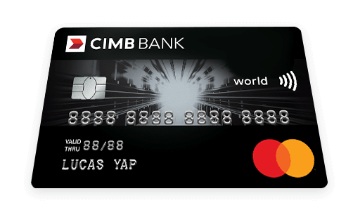 CIMB World Mastercard™