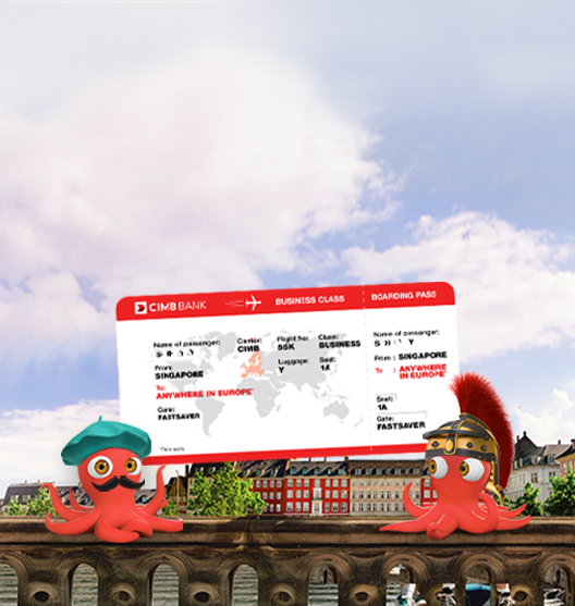 CIMB FastSaver Travel Draw Promotion